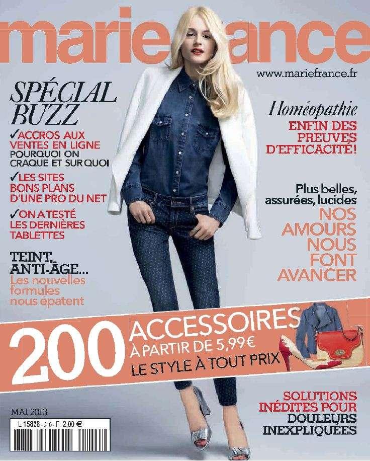 Marie France N°216 Mai 2013