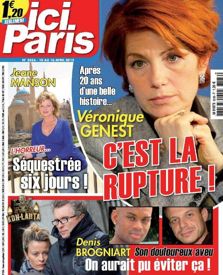 Ici Paris N°3536 du 10 au 16 Avril 2013