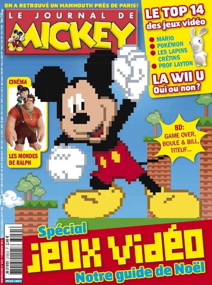 Le Journal de Mickey N°3155 du 5 au 11 Décembre 2012