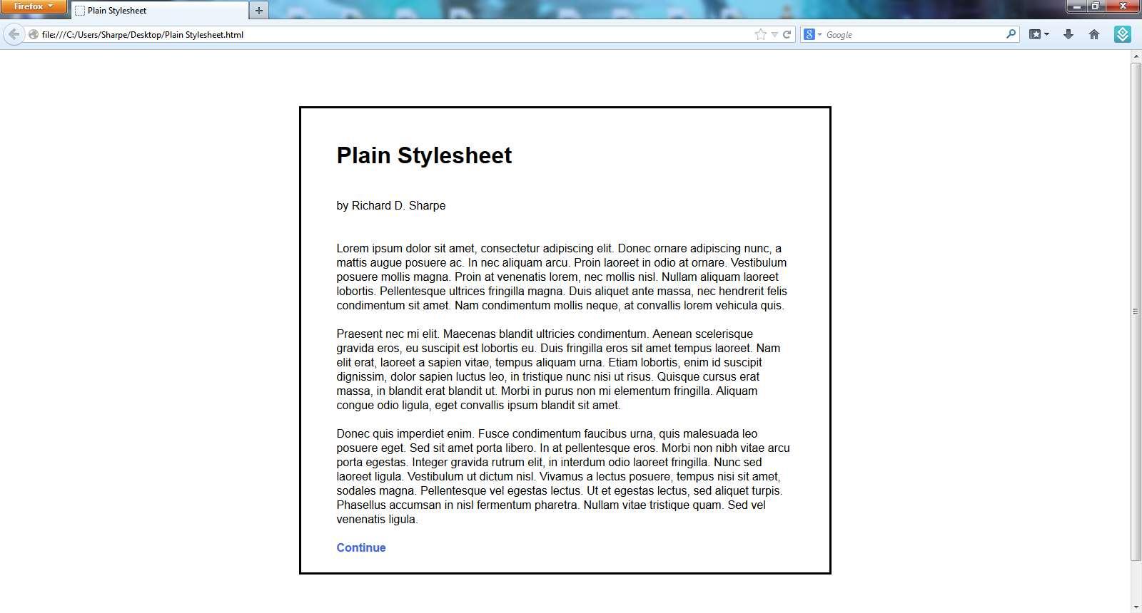 Sharpe\'s Stylesheets - Twine Forum