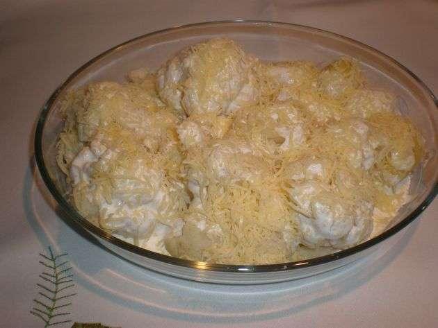 pieq - Gratinado de coliflor con papas
