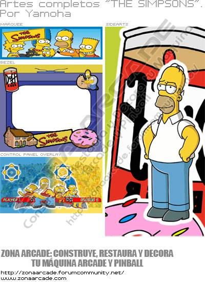 "Artes Completos ""The Simpsons"""