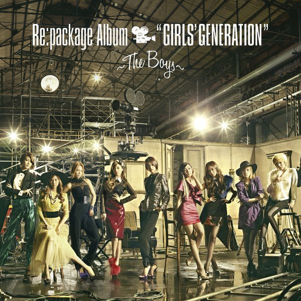 [Album] Girls Generation (SNSD)   The Boys (Repackage)