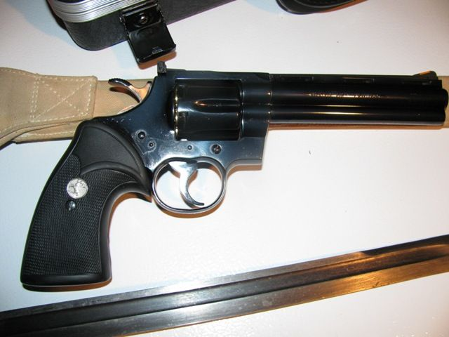 Colt Python - Revolver Handguns