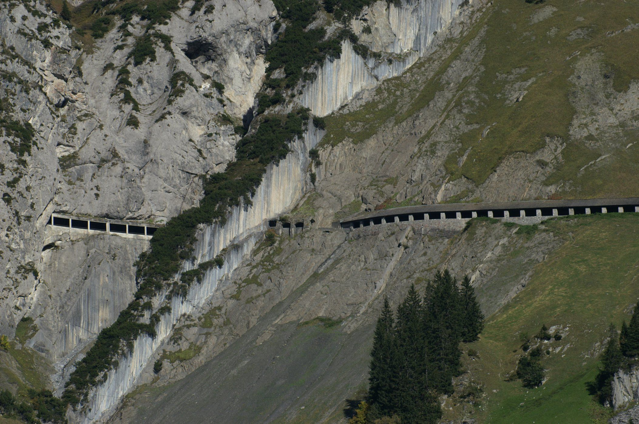 The most beautiful passes in the european Alps - Flexenpass 5.818 ft (1.773 m) - AUTOCAR ...