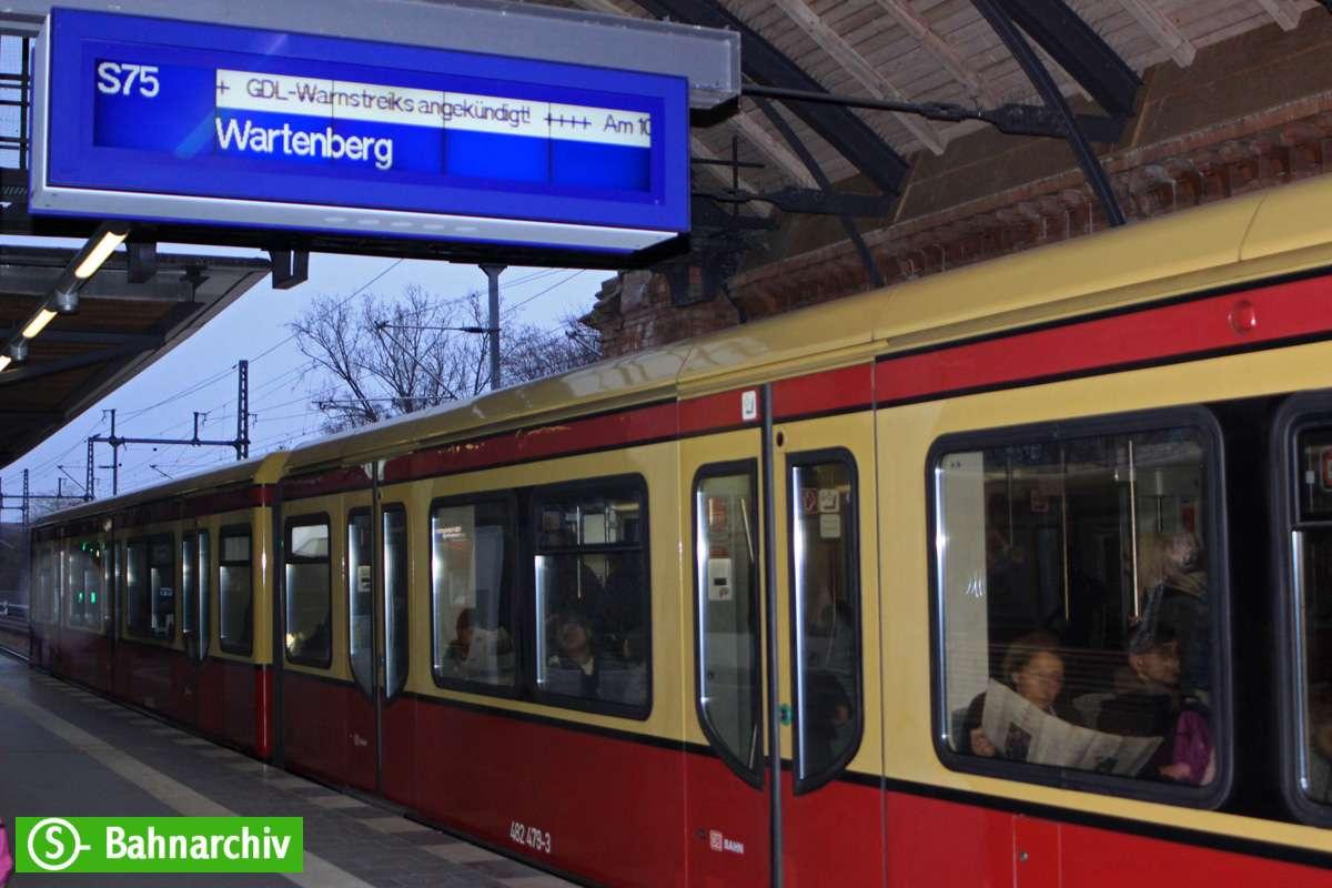 Gdl Streik S-Bahn