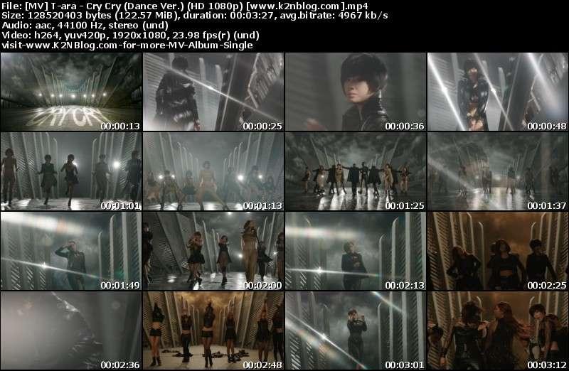 T-ara - Cry Cry (Dance Ver.) MV